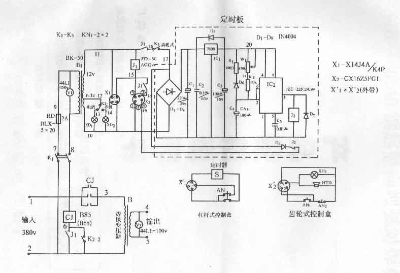 40竖向钢筋电渣压力焊机使用说明书