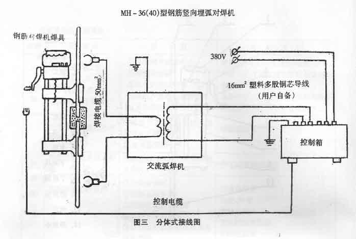 电焊机如何接线图